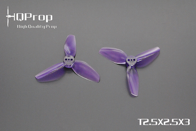 HQprop Purple T2.5x2.5x3 PC Propeller Set of 4