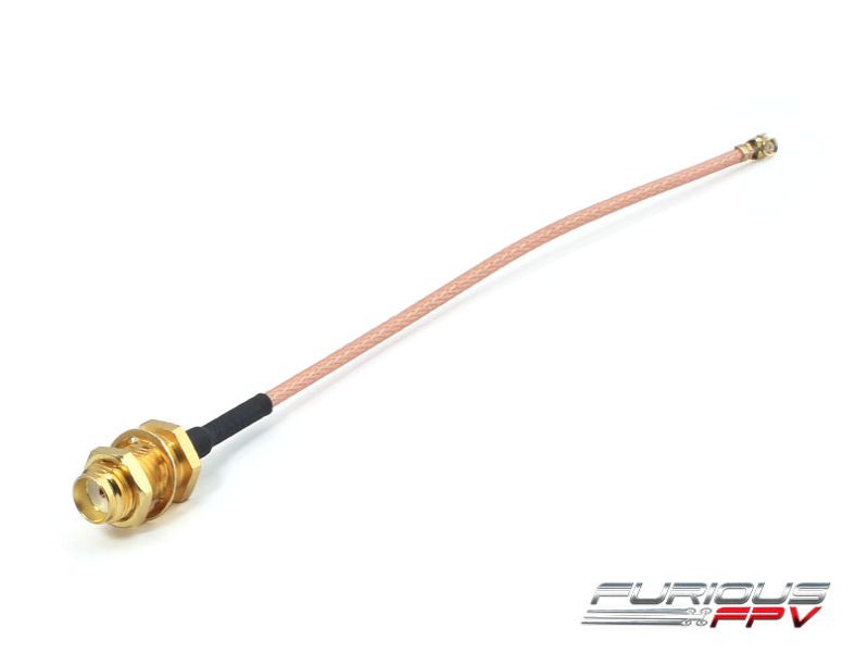 FuriousFPV UFL to SMA female cable