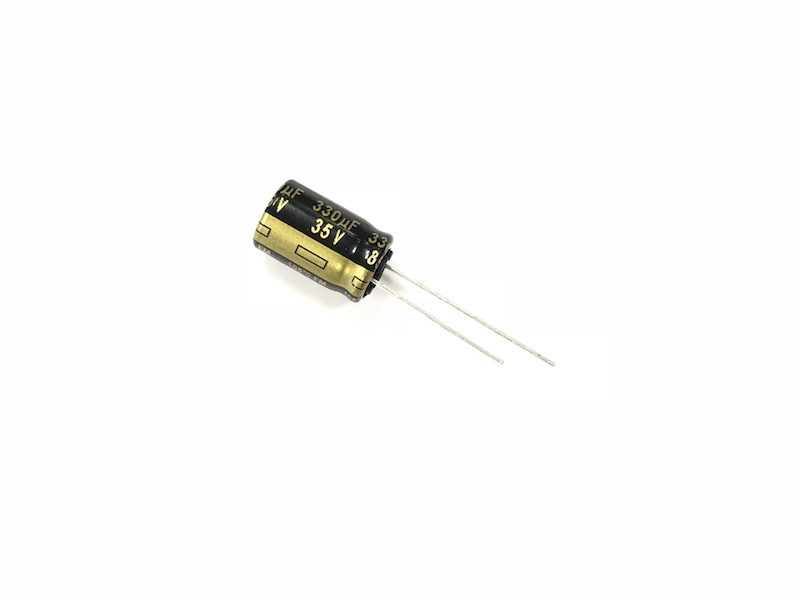Panasonic 330uF 35v Low ESR Capacitor (5 pcs)