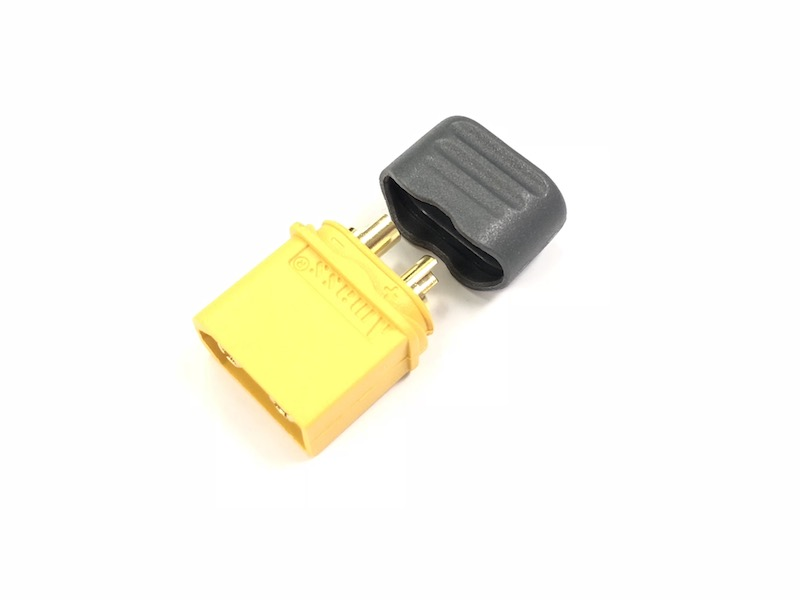 Yellow XT-60+ Female Connectors (5pcs)