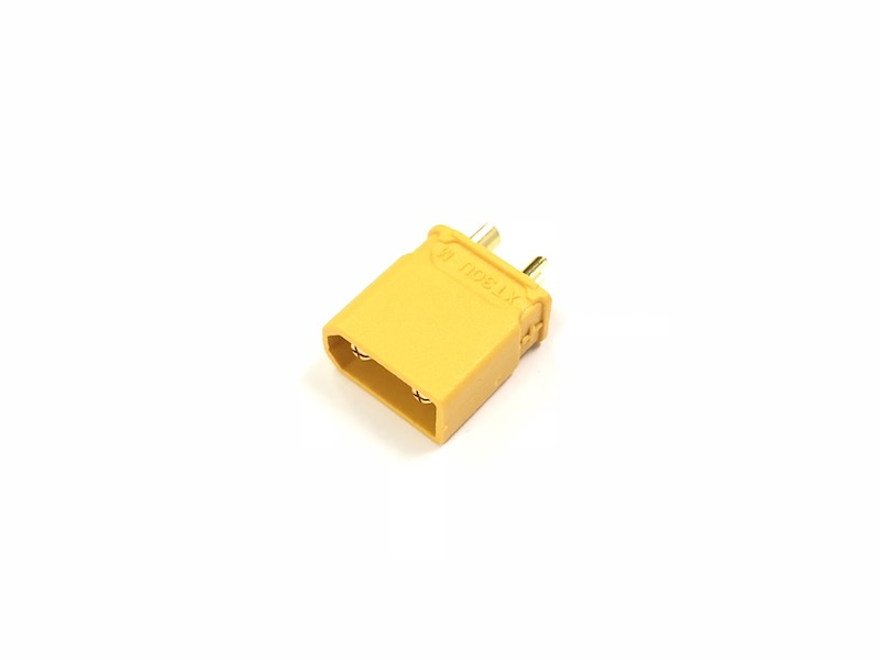 Yellow XT-30 Male Connector (5 pcs)