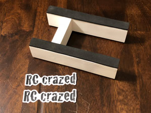 RC Crazed Race Stand