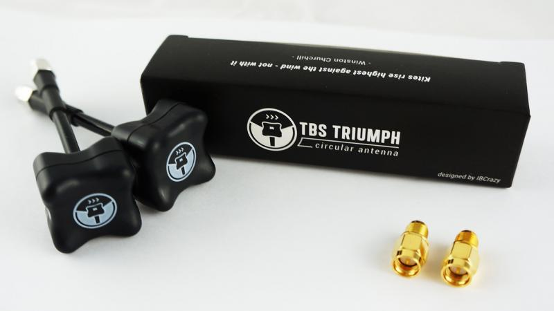 RPSMA RHCP Team BlackSheep TBS Triumph Antenna Pair