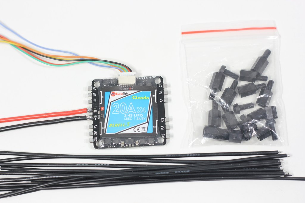 Sunrise Cicada 20A 4in1 DShot BB2 ESC 5v BEC