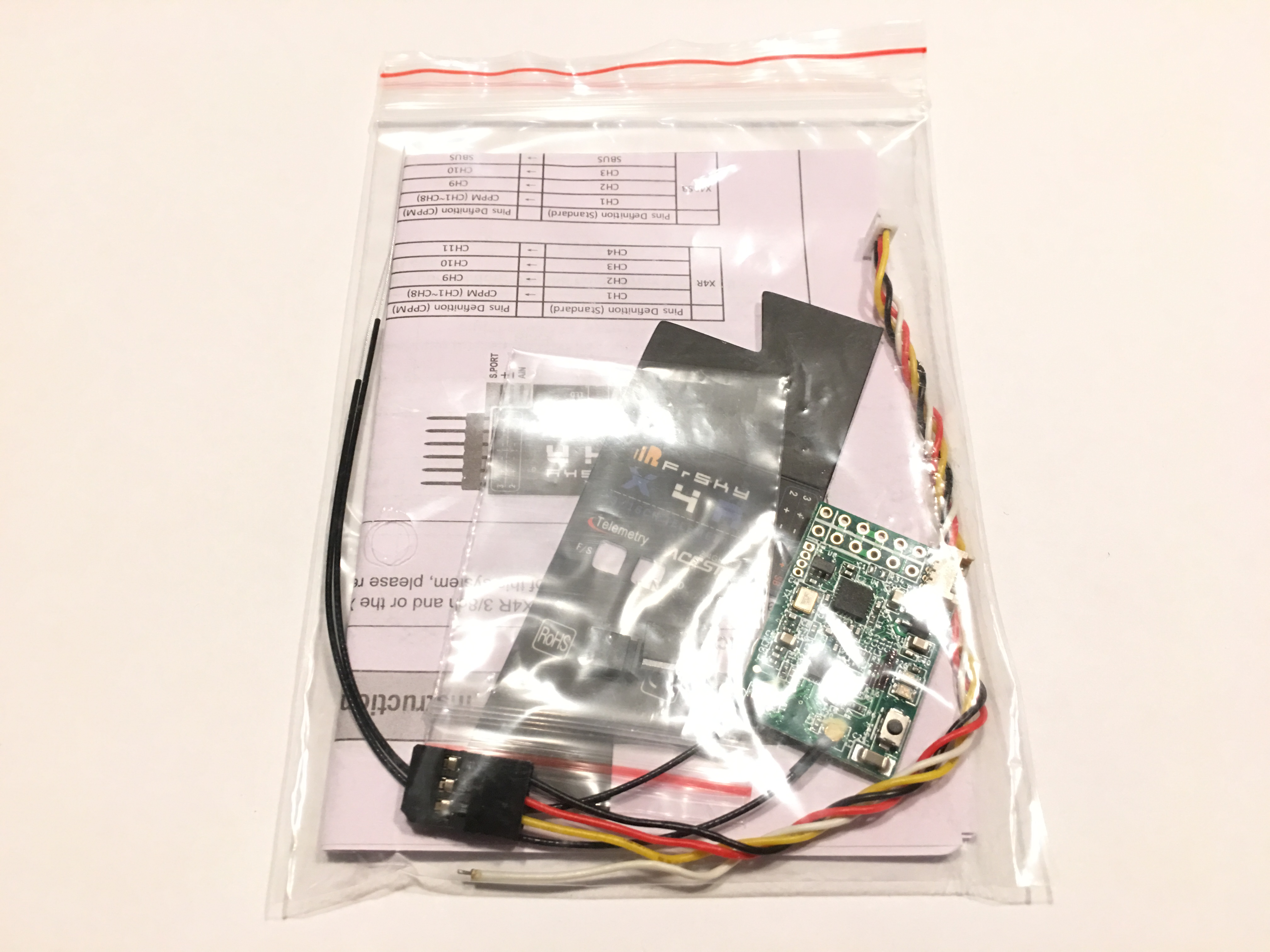 FrSky Naked X4RSB 2.4 GHz 16ch ACCST Receiver with S-BUS