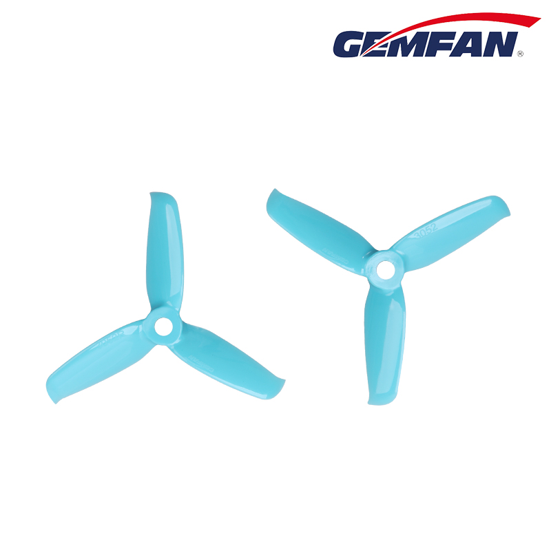 "Blue Gemfan Flash 3052 3"" Propeller Set"