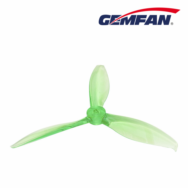 "Crystal Green Gemfan Flash 5149 Tri Blade 5"" Propeller Set"