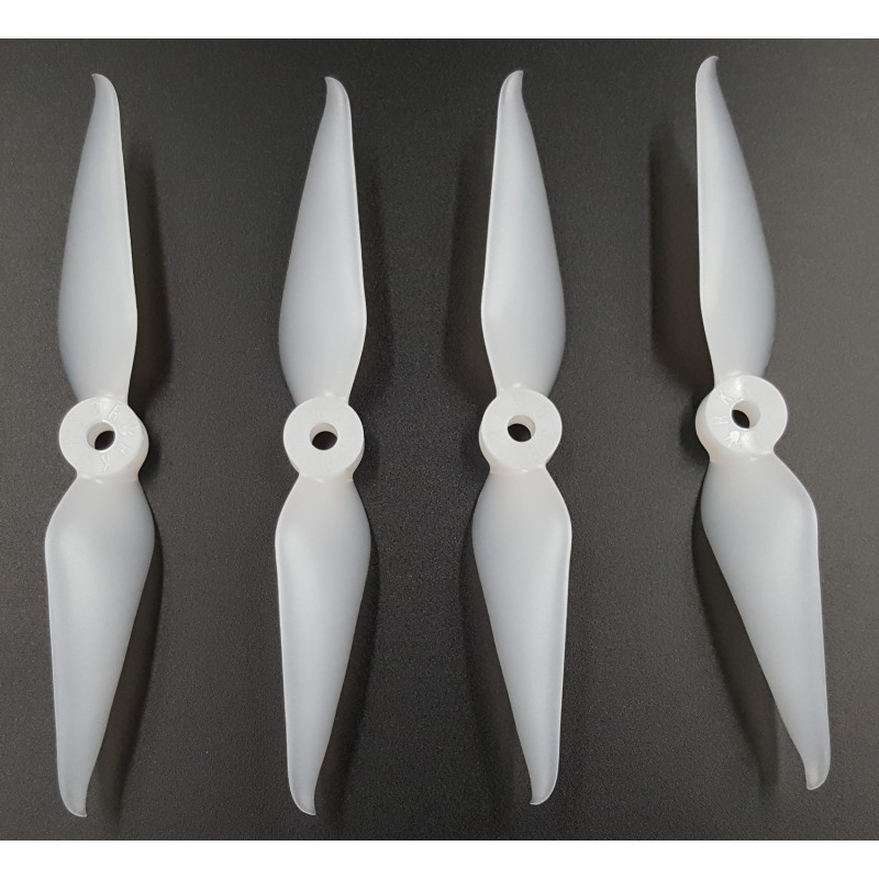 Racekraft Clear White 5038DCS Dual Blade Propellers