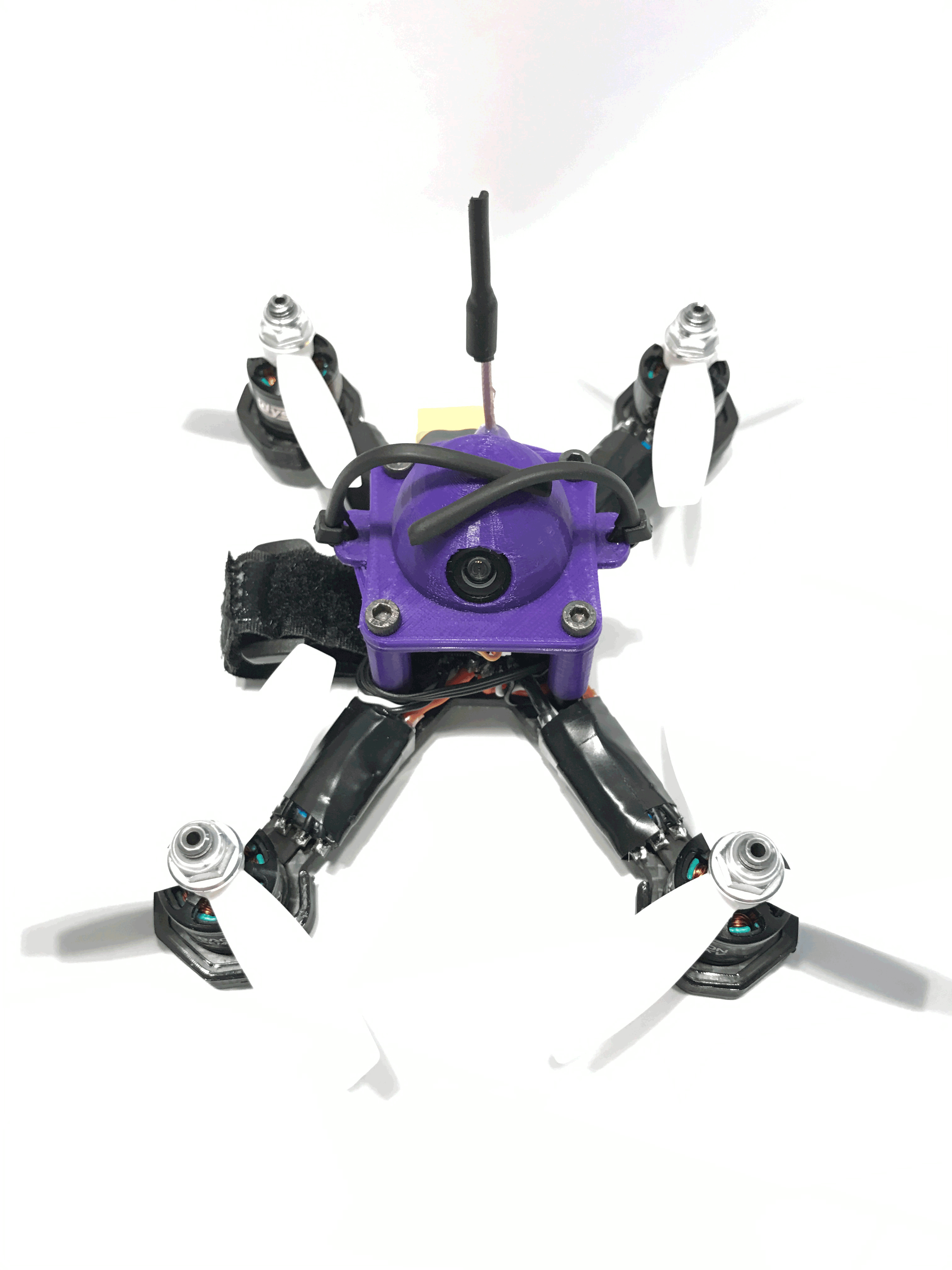 "RC Crazed Lil' MoFo 3"" Super Light FPV Racing Frame"