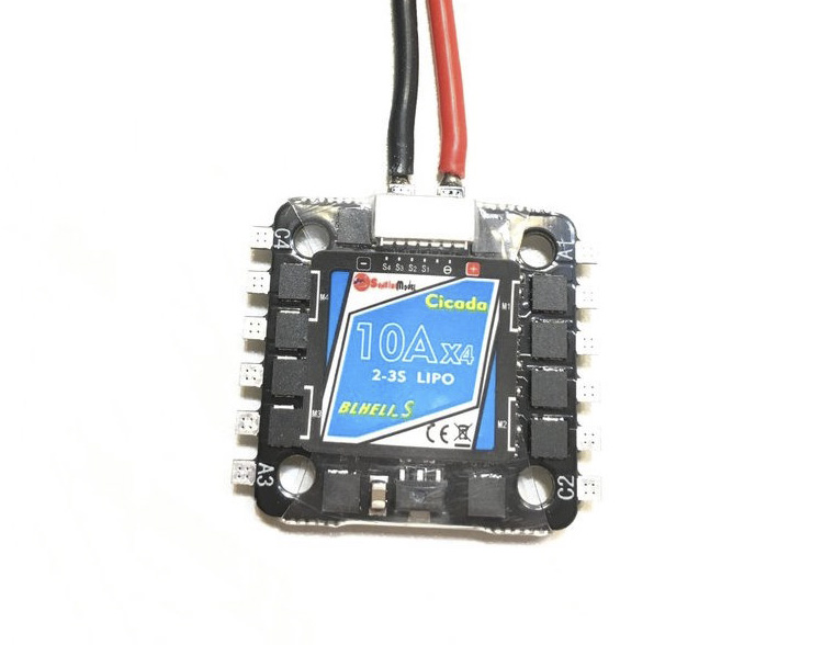 Sunrise Cicada 10A 4in1 DShot BB2 ESC