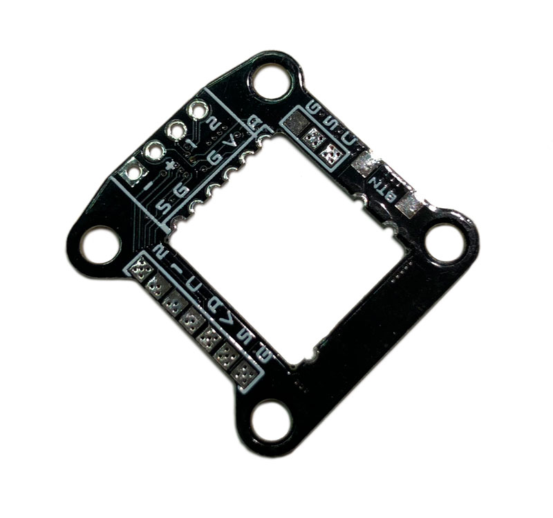 WhitenoiseFPV TBS Unify Nano Stack Mounting Board 20x20